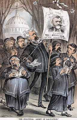 Salvation Army Photograph - Grant Cartoon, 1880 by Granger