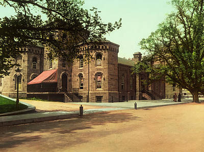 Photograph - Grant Hall - West Point 1901 by Mountain Dreams