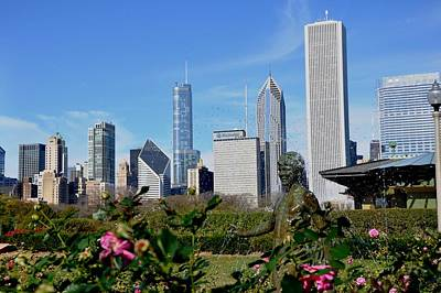 Photograph - Grant Park by Andrew Dinh