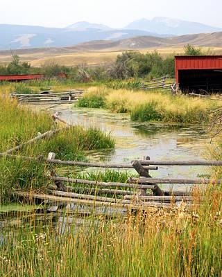 Photograph - Grants Khors Ranch Vertical by Marty Koch