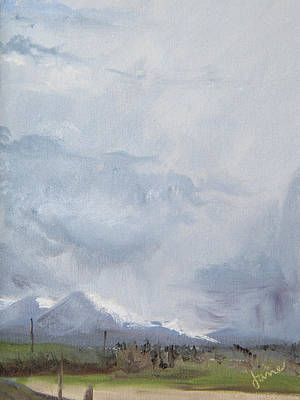 Painting - Grantsville Skies by Nila Jane Autry