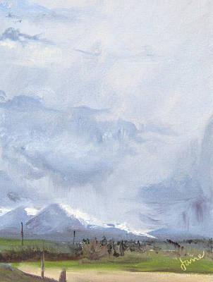 Painting - Grantsville Skies by Nila Jane Autry