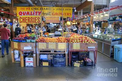 Photograph - Granville Island Market by David Birchall