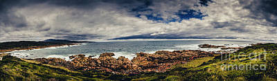 Beach Royalty-Free and Rights-Managed Images - Granville Tasmania Panoramic by Jorgo Photography - Wall Art Gallery