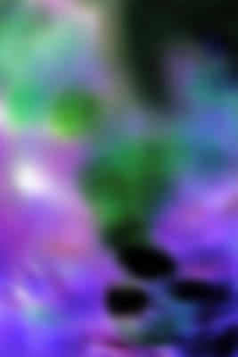 Grape Blur Art Print by Carolyn Stagger Cokley