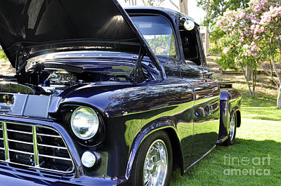 Photograph - Grape Fully Blown Pickup by Clayton Bruster
