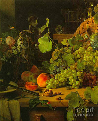 Photograph - Grape Harvest 1843 by Padre Art