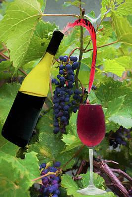 Photograph - Grape Refill by Dan Friend