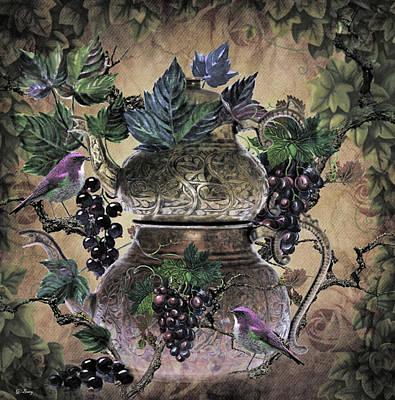 Grape Tea 02 Art Print