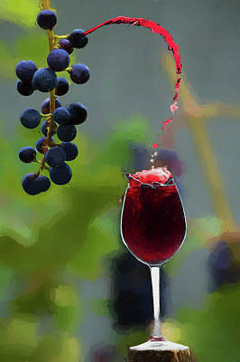 Photograph - Grape To Glass For You by Dan Friend
