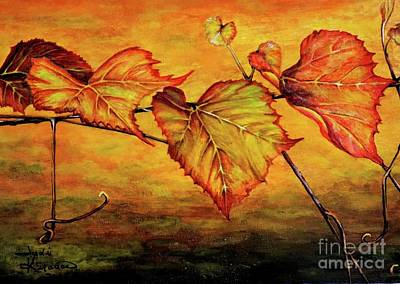 Painting - Grape Vine by Judy Kirouac