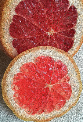 Photograph - Grapefruit by Bill Owen