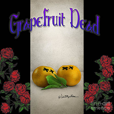 Grapefruit Painting - Grapefruit Dead... by Will Bullas