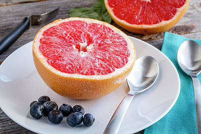 Photograph - Grapefruit For Breakfast by Teri Virbickis