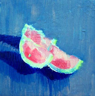 Painting - Grapefruit by Liz Adkinson