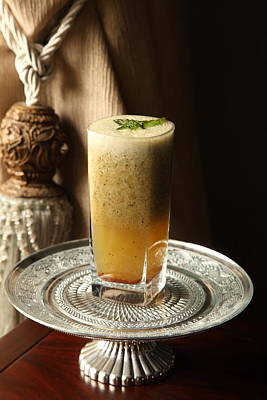Photograph - Grapefruit Lemon And Mint Wake- Up Hydration by Murtaza Humayun Saeed