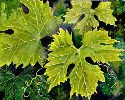 Grapeleaves Original by Susy Soulies