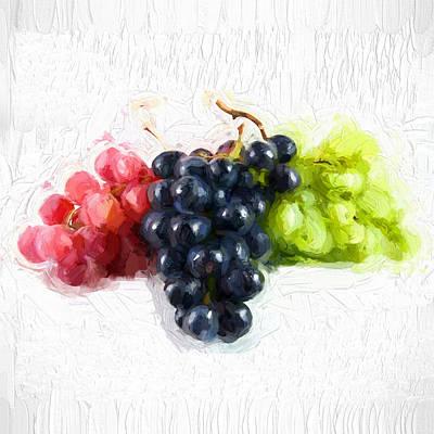 Grapes Original by Amanda Wyn Chance