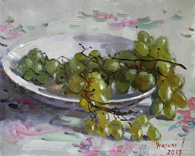 Grapes From Lida's Garden Original