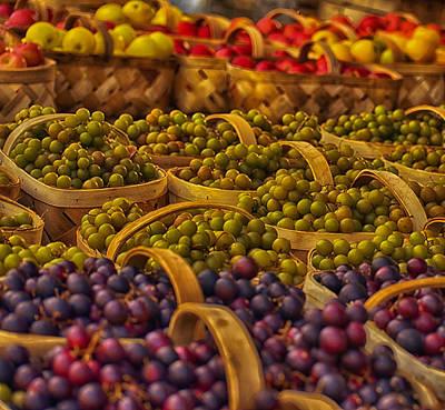 Grapes Galore Art Print