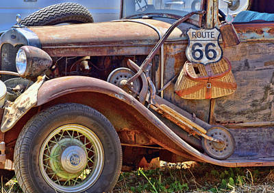 Photograph - Grapes Of Wrath Era Funky Truck 2 by Floyd Snyder