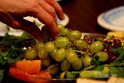 Grapes Art Print by Paul SEQUENCE Ferguson             sequence dot net