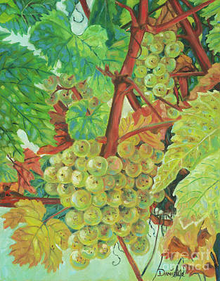 Grapes Provencale Original by Danielle Perry