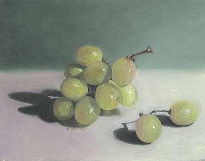 Grapes Still Life  Art Print