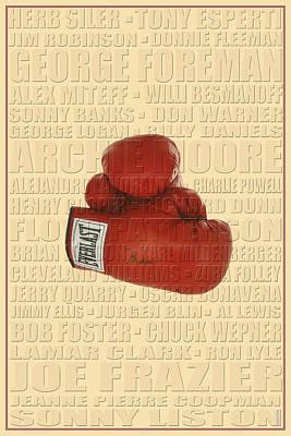 Graphic Ali Print by Andrew Fare