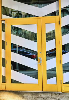 Photograph - Graphic Design Doorway by Allen Beatty