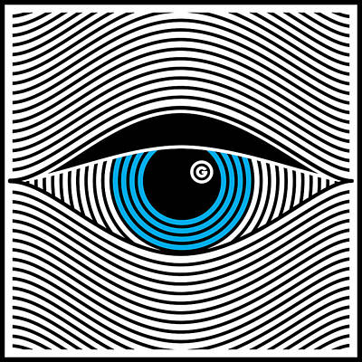 Digital Art - Graphic Eye by Gary Grayson