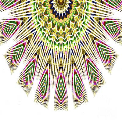 Photograph - Graphic Kaleidoscope by Ludek Sagi Lukac
