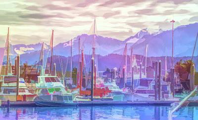 Photograph - Graphic Rainbow Seward Alaska 2 by Aimee L Maher Photography and Art Visit ALMGallerydotcom