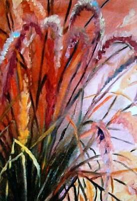 Painting - Grass by Deborah Carroll