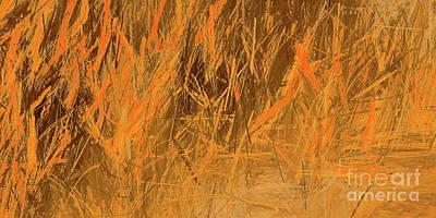 Painting - Grass Impression by Tim Richards