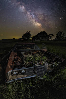 Photograph - Grass Motor  by Aaron J Groen