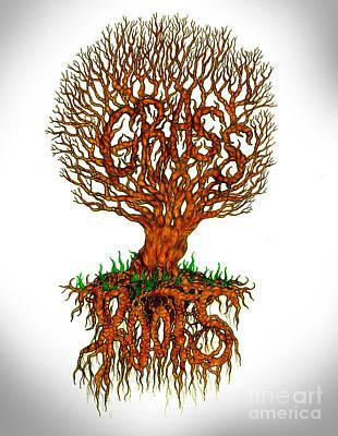Grass Roots Art Print