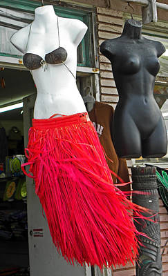 Photograph - Grass Skirts For Sale by Elizabeth Hoskinson