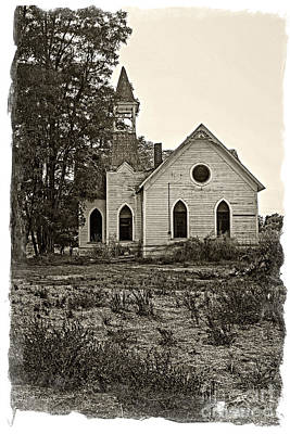 Photograph - Grass Valley Church by Sonya Lang
