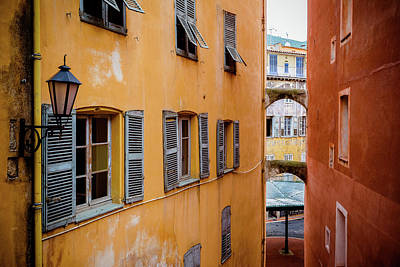 Photograph - Grasse Color And Shutters by Lauri Novak