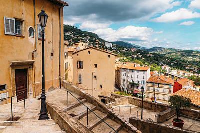 Photograph - Grasse, Cote D'azur, France by Alexandre Rotenberg