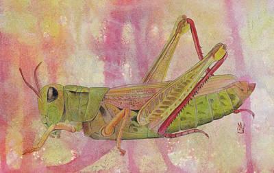 Painting - Grasshopper by Marie Stone Van Vuuren