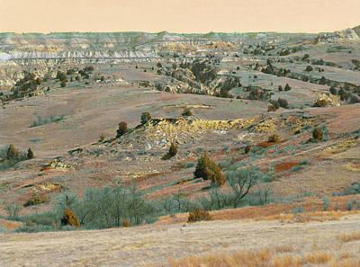 Photograph - Grasslands Badlands Magic by Cris Fulton