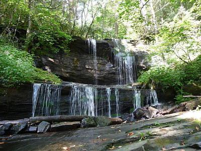 Photograph - Grassy Creek Falls - I by Joel Deutsch