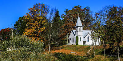 Grassy Creek Methodist Church Art Print