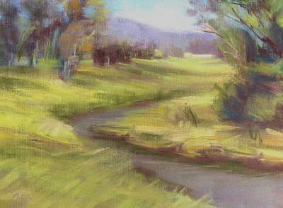 Grassy Meadow Art Print by Patricia Seitz