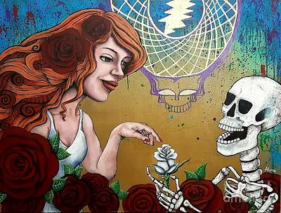 Painting - Grateful Dead by Alima Newton