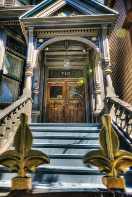 Grateful Dead House - 710 Ashbury Street - San Francisco Art Print by Jennifer Rondinelli Reilly - Fine Art Photography