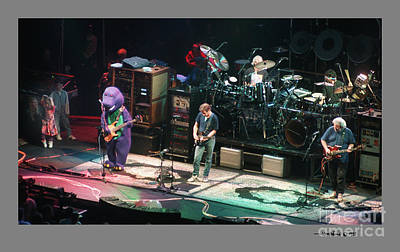 Photograph - Grateful Dead Jammin With Barney by Jonathan Fine