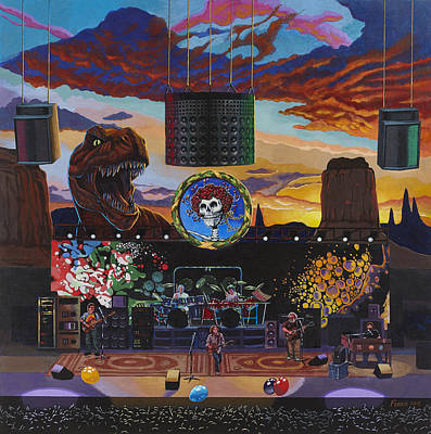 Other Painting - Grateful Dead Live by Rodger Ferris